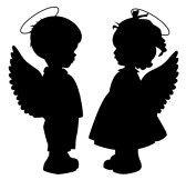 maly aniol (lysyl), wieksza, mala