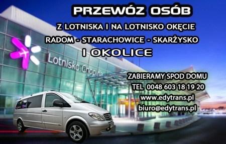 Lotnisko Modlin Okęcie (edytrans), Radom